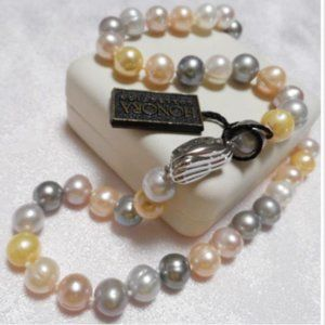 Honora FWP Pastel 9mm Necklace Strand